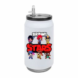 Термобанка 350ml Cute Brawl Stars Heroes