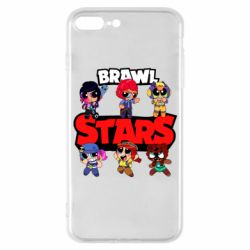 Чехол для iPhone 7 Plus Cute Brawl Stars Heroes