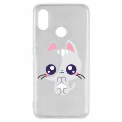 Чехол для Xiaomi Mi8 Cute cat with big eyes