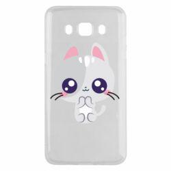Чохол для Samsung J5 2016 Cute cat with big eyes