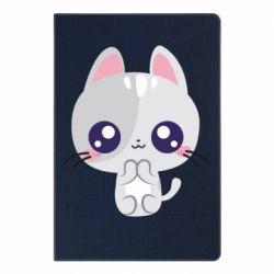 Блокнот А5 Cute cat with big eyes
