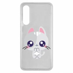 Чехол для Xiaomi Mi9 SE Cute cat with big eyes