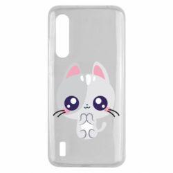 Чехол для Xiaomi Mi9 Lite Cute cat with big eyes