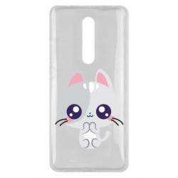 Чехол для Xiaomi Mi9T Cute cat with big eyes