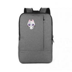 Рюкзак для ноутбука Cute cat with big eyes