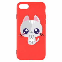 Чохол для iPhone 7 Cute cat with big eyes