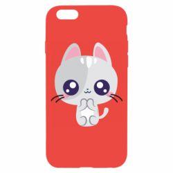 Чохол для iPhone 6/6S Cute cat with big eyes