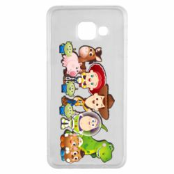 Чохол для Samsung A3 2016 Cute characters toy story