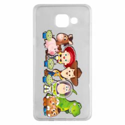 Чохол для Samsung A5 2016 Cute characters toy story