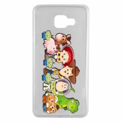 Чохол для Samsung A7 2016 Cute characters toy story
