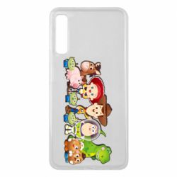 Чохол для Samsung A7 2018 Cute characters toy story