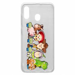 Чохол для Samsung A20 Cute characters toy story