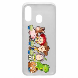Чохол для Samsung A40 Cute characters toy story