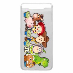Чохол для Samsung A80 Cute characters toy story