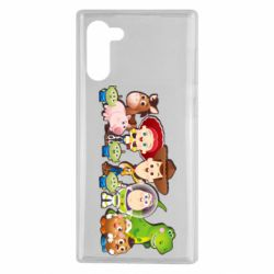 Чохол для Samsung Note 10 Cute characters toy story