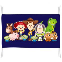 Прапор Cute characters toy story