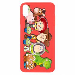 Чохол для iPhone X/Xs Cute characters toy story