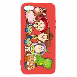 Чохол для iphone 5/5S/SE Cute characters toy story