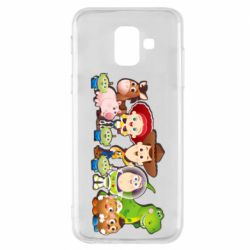 Чохол для Samsung A6 2018 Cute characters toy story