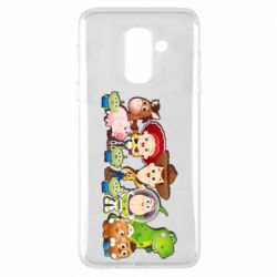 Чохол для Samsung A6+ 2018 Cute characters toy story