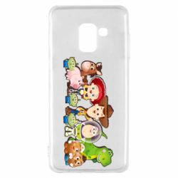 Чохол для Samsung A8 2018 Cute characters toy story