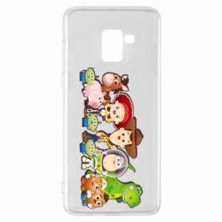 Чохол для Samsung A8+ 2018 Cute characters toy story
