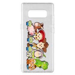 Чохол для Samsung Note 8 Cute characters toy story