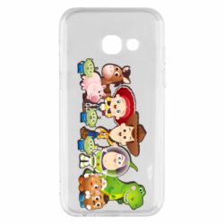 Чохол для Samsung A3 2017 Cute characters toy story