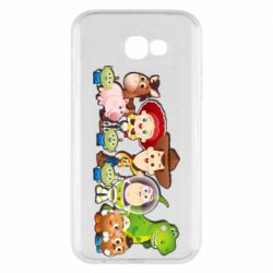 Чохол для Samsung A7 2017 Cute characters toy story