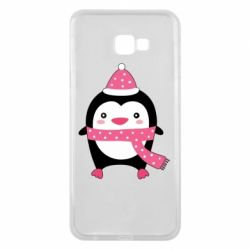 Чехол для Samsung J4 Plus 2018 Cute Christmas penguin