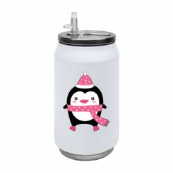 Термобанка 350ml Cute Christmas penguin