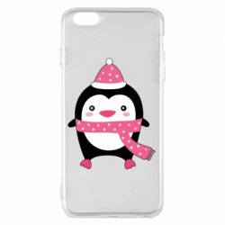 Чехол для iPhone 6 Plus/6S Plus Cute Christmas penguin