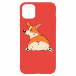 Чехол для iPhone 11 Cute corgi