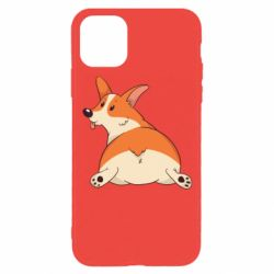 Чехол для iPhone 11 Pro Cute corgi