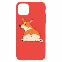 Чехол для iPhone 11 Pro Max Cute corgi