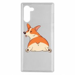 Чехол для Samsung Note 10 Cute corgi