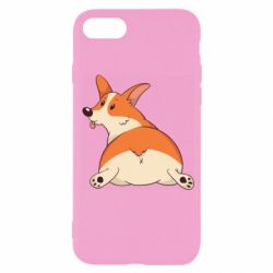 Чехол для iPhone 7 Cute corgi