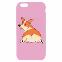 Чехол для iPhone 6/6S Cute corgi