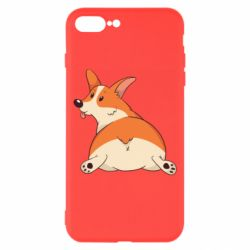 Чехол для iPhone 8 Plus Cute corgi