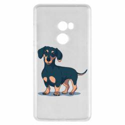 Чехол для Xiaomi Mi Mix 2 Cute dachshund