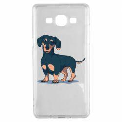 Чехол для Samsung A5 2015 Cute dachshund