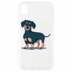 Чохол для iPhone XR Cute dachshund