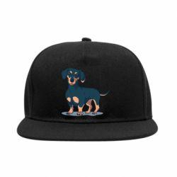 Снепбек Cute dachshund