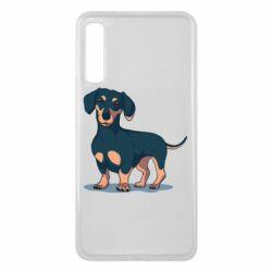 Чохол для Samsung A7 2018 Cute dachshund