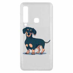 Чехол для Samsung A9 2018 Cute dachshund