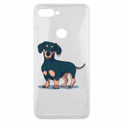 Чехол для Xiaomi Mi8 Lite Cute dachshund
