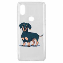 Чехол для Xiaomi Mi Mix 3 Cute dachshund