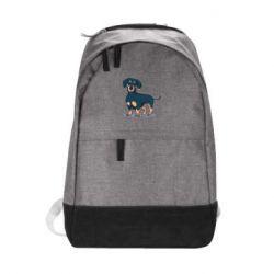 Рюкзак міський Cute dachshund