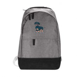 Городской рюкзак Cute dachshund