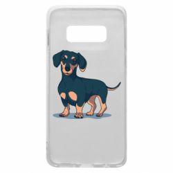 Чехол для Samsung S10e Cute dachshund